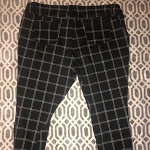 5ad5f23074ae2 Faded Glory Pants | Black And White Striped Jeggings | Poshmark